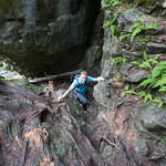 Climbing Bruce's Caves