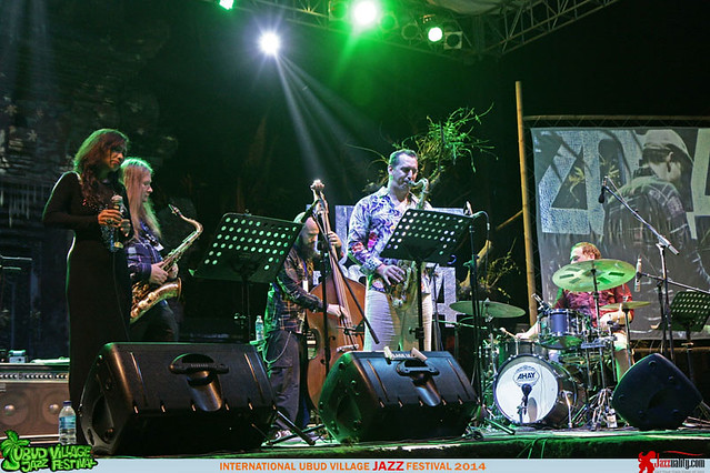 Ubud Village Jazz Festival 2014 - Uwe Plath Dian Pratiwi Ondrej Stveracek (1)