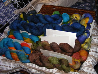 Sock yarn for FE 2