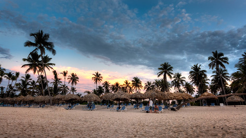Caribbean Sunset, Bavaro, Dominican Republic