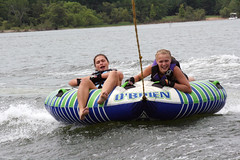 towed water sport, tubing, sports, recreation, outdoor recreation, boating, inflatable,