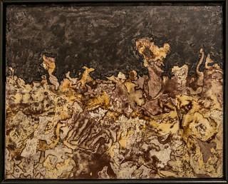Paysage romanesque - Jean Dubuffet - septembre 1954