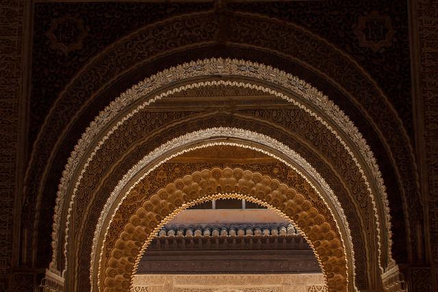 Nasride Palace - La Alhambra de Granada Spain Andalousia - Picture Image Photography