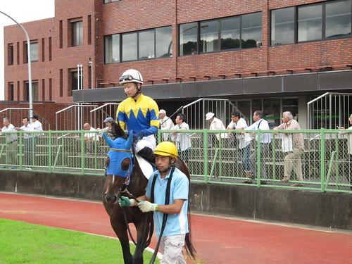 佐賀競馬場の田中直人騎手