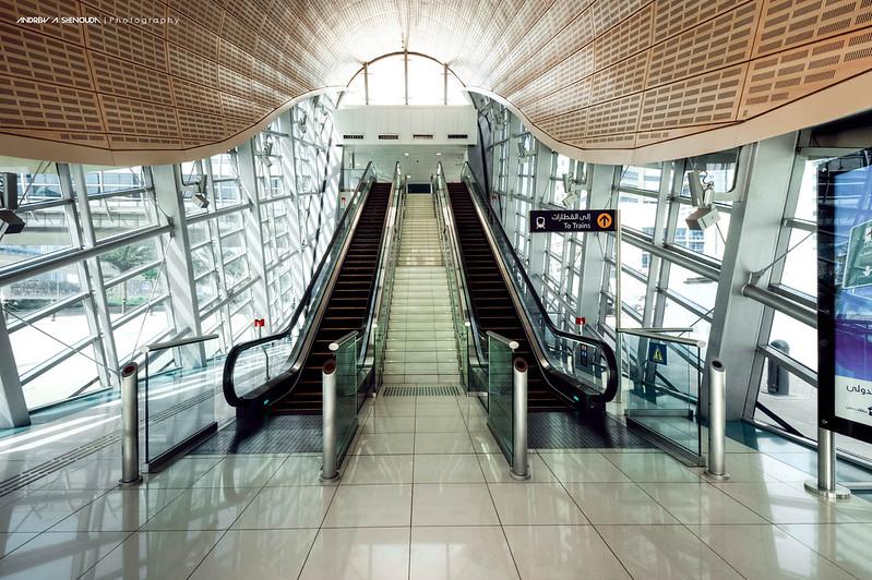 Dubai Metro Station [HDR]