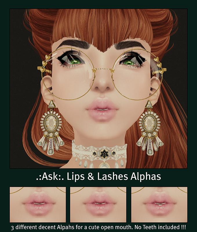 Lips & Lashes Alphas