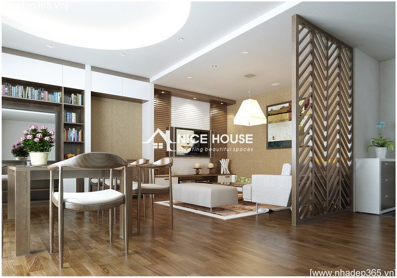 Thiết kế nội thất chung cư CT2_5