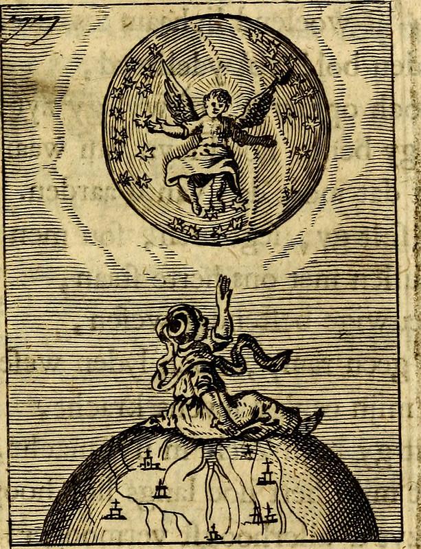 """Image from page 172 of """"Goddelyke liefde-vlammen, van een boetvaardige, geheyligde, liefhebbende, en aan haar selfs-stervende ziele : in drie deelen verdeelt, af-gebeeld door vijftig nette koopere figuuren : neffens haar verzen, aanmerkingen, gezangen, en"""