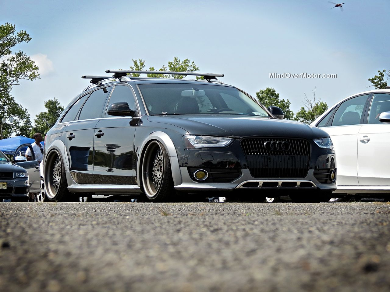 Slammed Audi Allroad at Waterfest 20