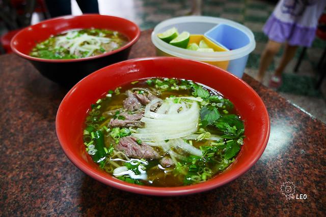 [新竹 竹東]–好吃的越南麵與越南春捲–台越小吃店