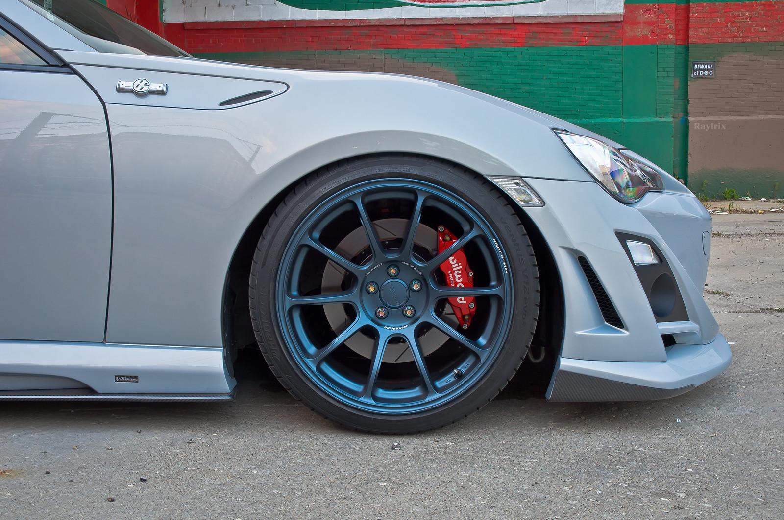 2013 Scion Fr S 10 Series >> FS/IL> Volk Racing ZE40 18x10 +40 5x100 Matte Blue Gunmetal Face 3 Concave - Scion FR-S Forum ...