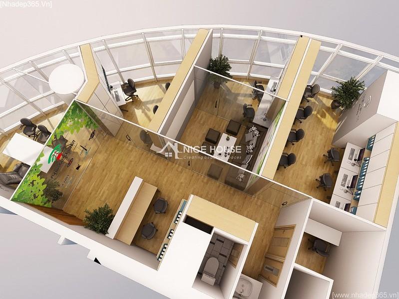 Thiết kế nội thất văn phòng EuroWindow- HN_03