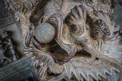 Chinese Dragon, Yap Temple, Penang
