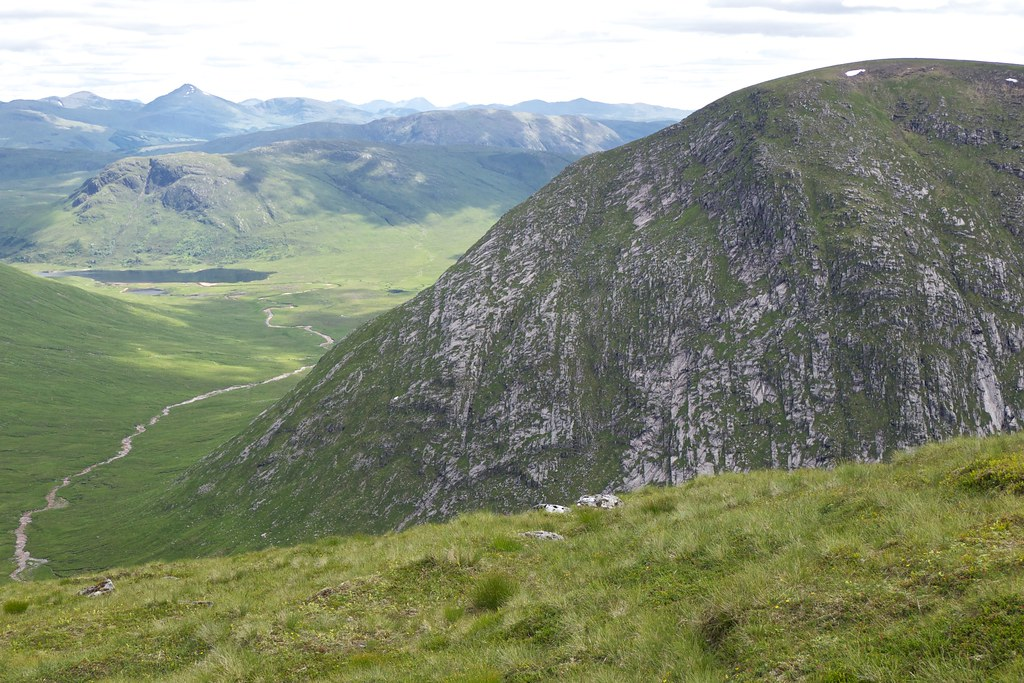 Loch Dochard and Meall nan Eun