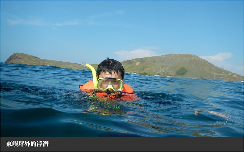 東嶼坪外的浮潛