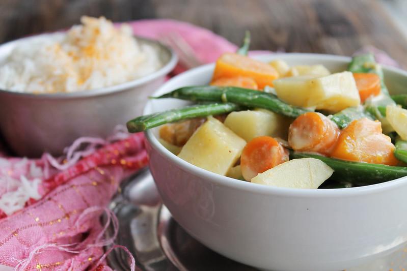 Recette curry thaï