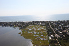 Hurricane Sandy aerial tour 2014 over Forsythe Refuge. The salt marsh system is an important storm protection for the many coast communities along the New Jersey shore.