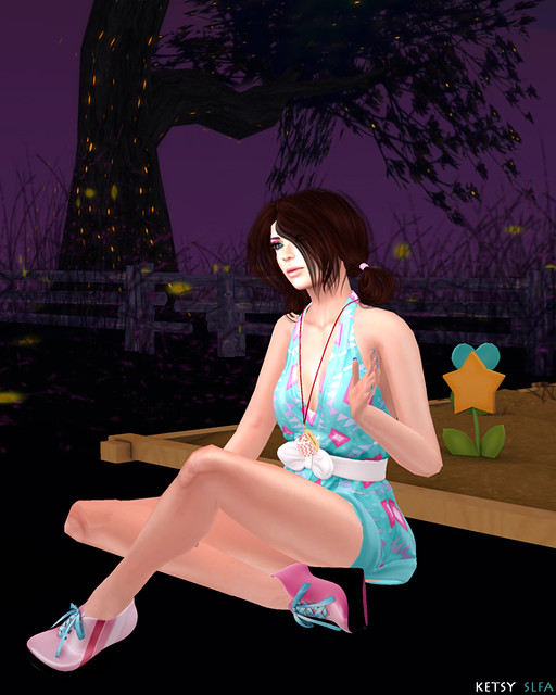 In The Night Garden (New Post @ Second Life Fashion Addict)