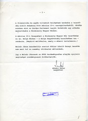 091. Beszámoló Habsburg Ottó kölni, 1983. március 15-ei előadásának meghiúsításáról