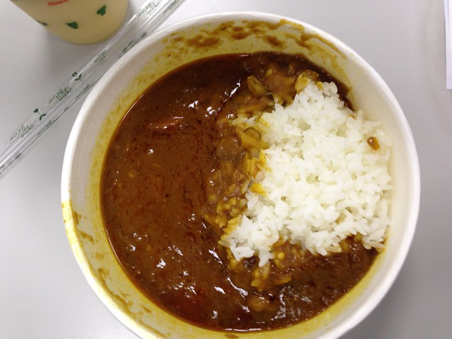 中碗特製咖哩飯($89)@すき家SUKIYA牛丼