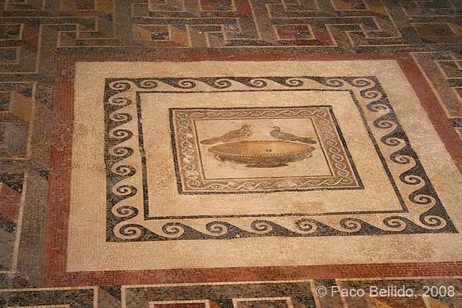 Mosaico de la Domus Romana. © Paco Bellido, 2008