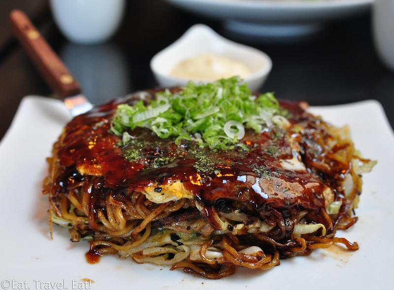 Sagami- Irvine, CA: Hiroshima Okonomiyaki