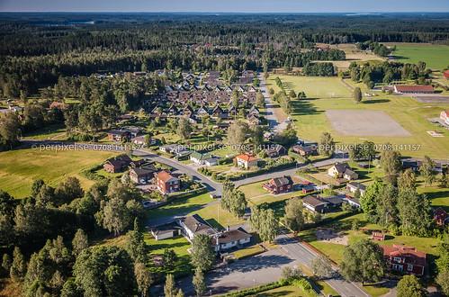 sverige jönköping swe flygfoto forsheda