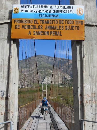 gnarly bridge crossing