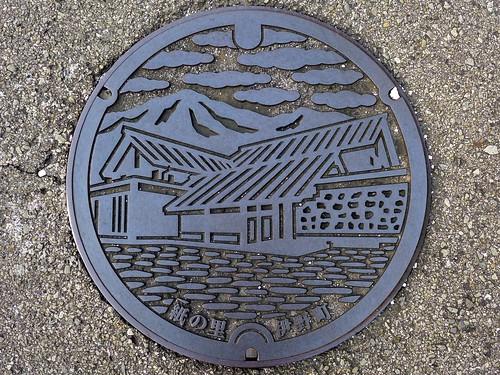 Ino Kochi, manhole cover (高知県伊野町のマンホール)
