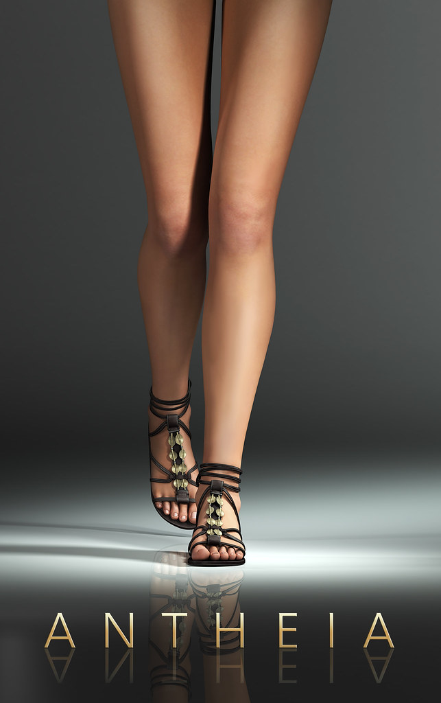 Maitreya Gold Antheia Sandals