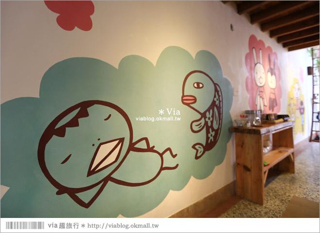 【阿朗基咖啡】台南店開幕囉!台南老屋餐廳推薦~老屋改造+可愛療癒系的新餐廳21