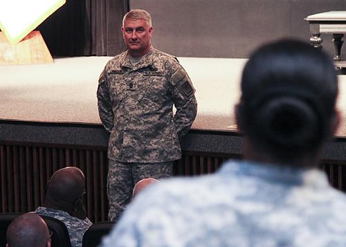 SMA Chandler speaks at Fort Huachuca