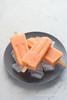 Ghiaccioli alle carote e zenzero