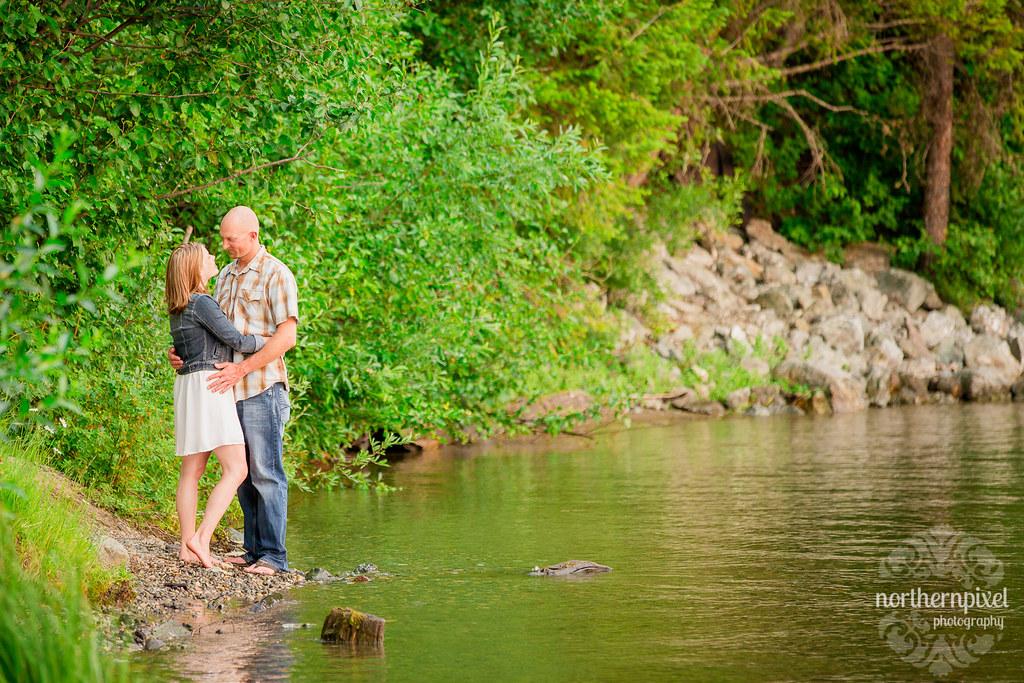 Ness Lake Engagement Session
