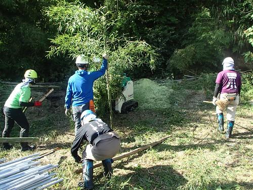南相馬・小高でボランティア(援人 2014年 0829便)