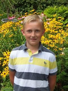 Arnaud Andries 11 ans, congé de la fête du Travail