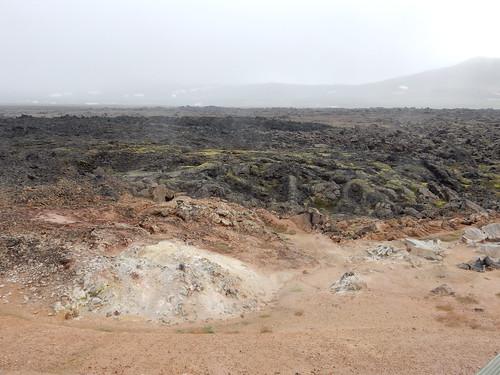 Towards the Lava Field