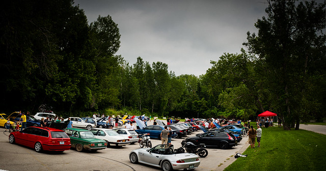 The 3rd Annual Meat Meet Euro Car Meet, Kansas City