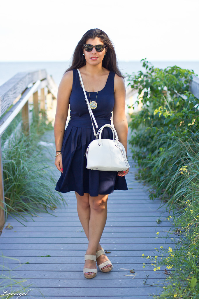 Navy Dress, White Bag-2.jpg