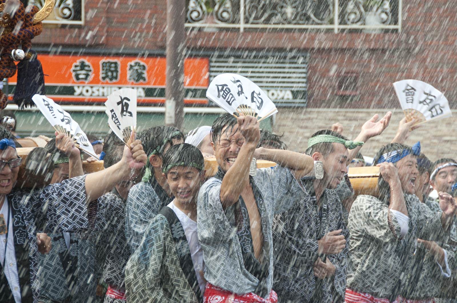 Japán utazás ünnepek, Fukagawa Hachimangu Matsuri