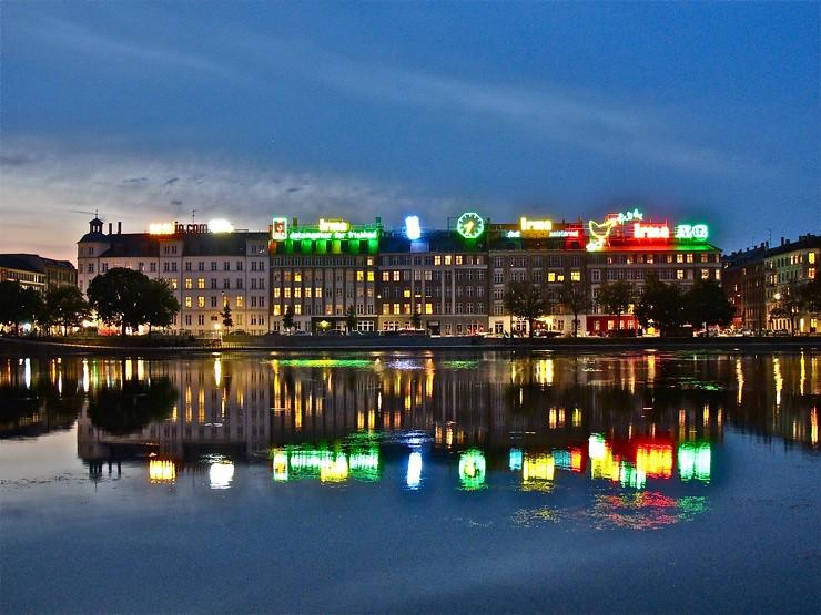 Copenhagen tonight <3