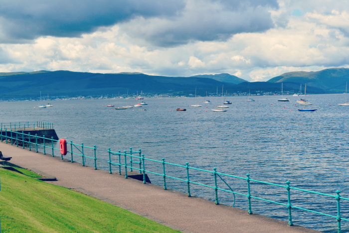 mouth of river clyde