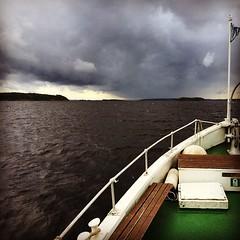 #stormiscoming #näsijärvi #inttilaiva