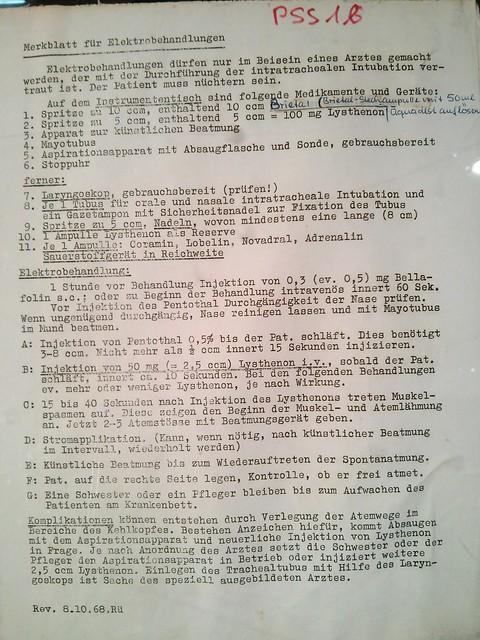 Historische Sammlung @ UPK Basel