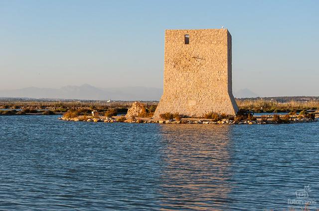 La torre tamarit de santa pola - Mar de cristal santa pola ...