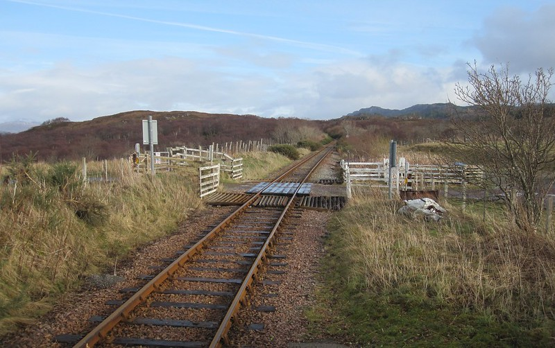 Duirinish Station Level Crossing