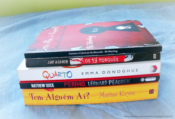Caixa de Correio, livros, Julho