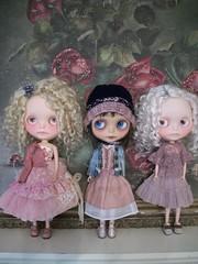 Trio of Petite Wanderlings.....