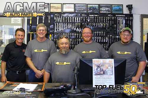 Acme Auto Parts Top Fuel 50