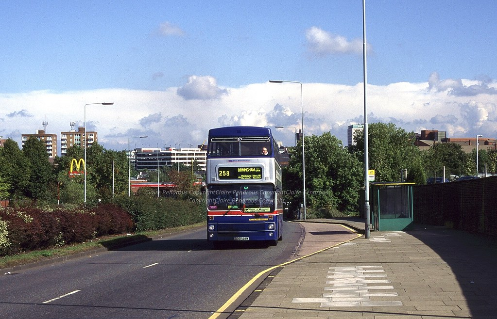 Wmt 2148 Penn Road Wolverhampton Heading South Out Of